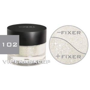 Vipera Brocaded Loose Powder Galaxy Eye Shadow Silver 102