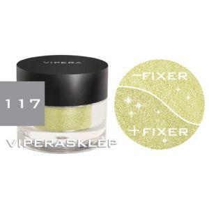 Vipera Brocaded Loose Powder Galaxy Eye Shadow Green 117